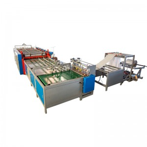 Full Automatic PP Woven Bags Cutting & Sewing & Printing Integrated Machine