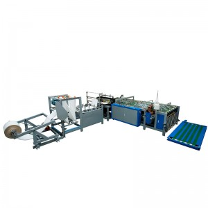 Full Automatic PP Woven Bags Cutting & Sewing Machine